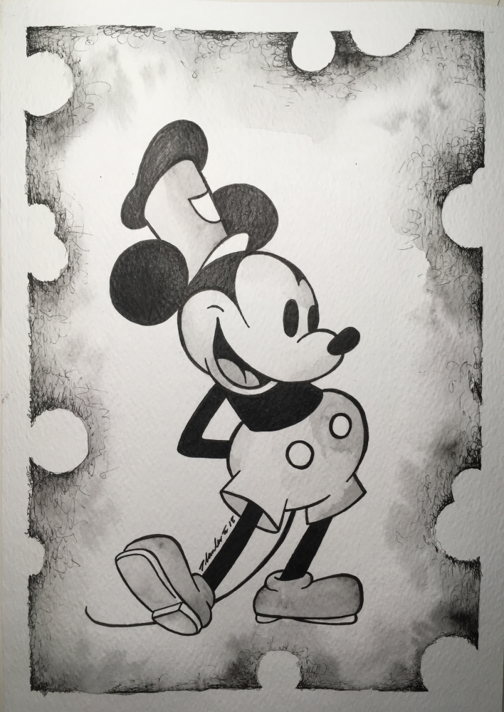 Mickey Mouse by TraceyLawler